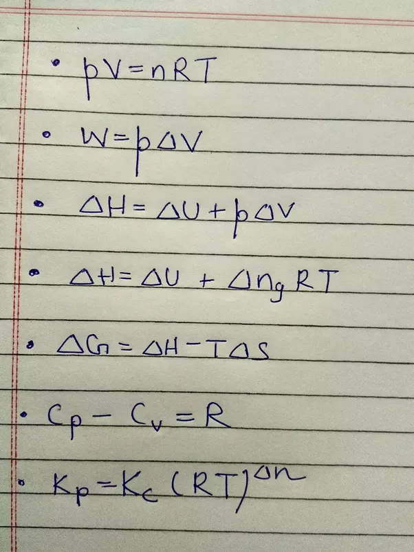 What are the important derivations in chemistry cbse class 11 quora answer wiki malvernweather Image collections