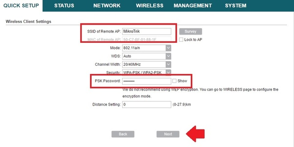 What are the steps to connect one router to another to