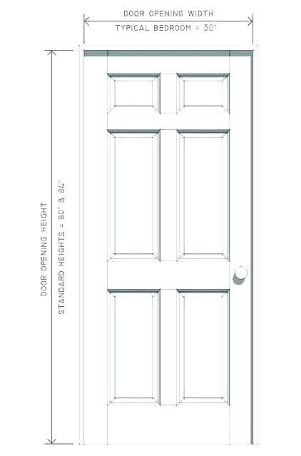 What Is The Standard Bedroom Door Size