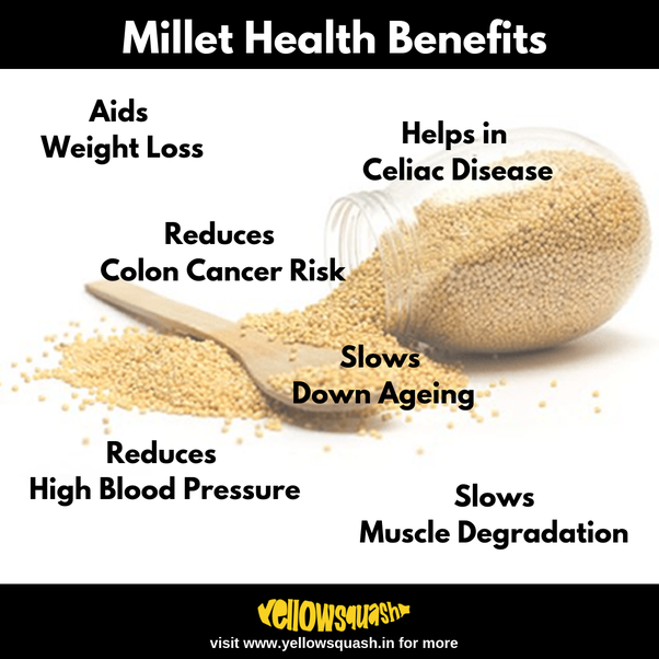 What are the benefits of adding millet in your diet? - Quora
