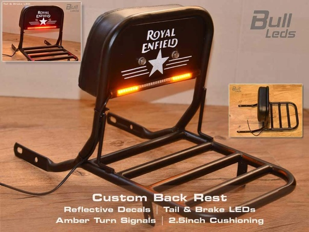 How does one modify the seats of Royal Enfield Classic 350