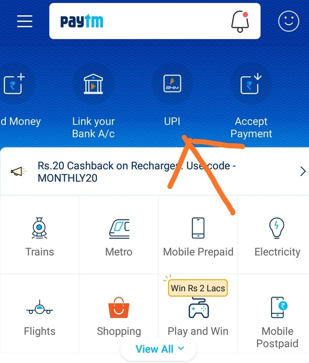 How to delete a default linked bank account from Paytm - Quora