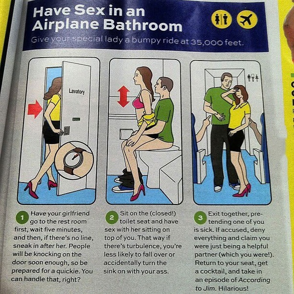 Sex on the plane nake picture 544