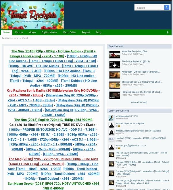 hindi movie torrents site
