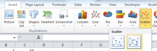 how to create stem and leaf plot in excel 2013