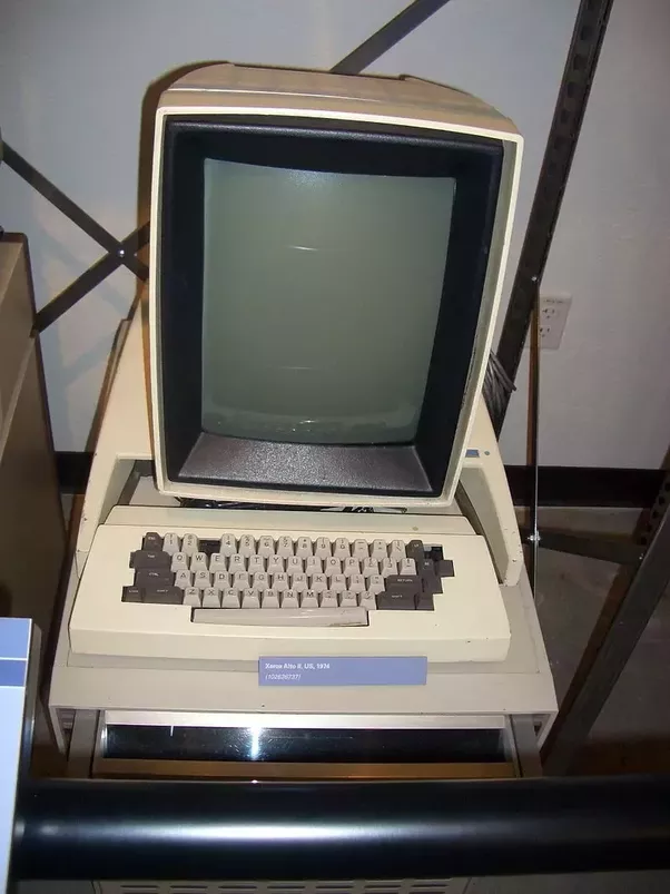 Xerox Alto Was One Of The First Computers Designed For Individual Use In 1973 And Is Regarded As Modern Computer Utilizes A Mouse