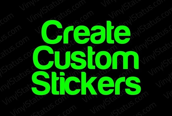 Whether you want to have a logo an image or simply a name or phrase printed stickeroo will give exactly what you need for your brand or your personal