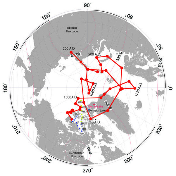 Why isn't the magnetic North Pole at the North Pole? - Quora