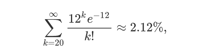 What is the real life example of Poisson distribution? - Quora
