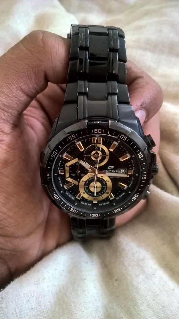 f489180973 I have had the pleasure of owning the best selling Edifice model that casio  has ever made for the past 4 years and here are my thoughts.