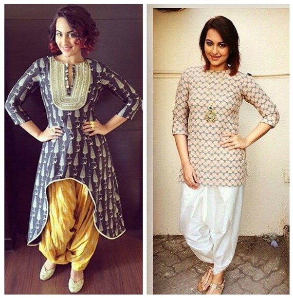 8a6232c138 Dhoti Pant is highly in fashion these days and it goes best with Kurtis