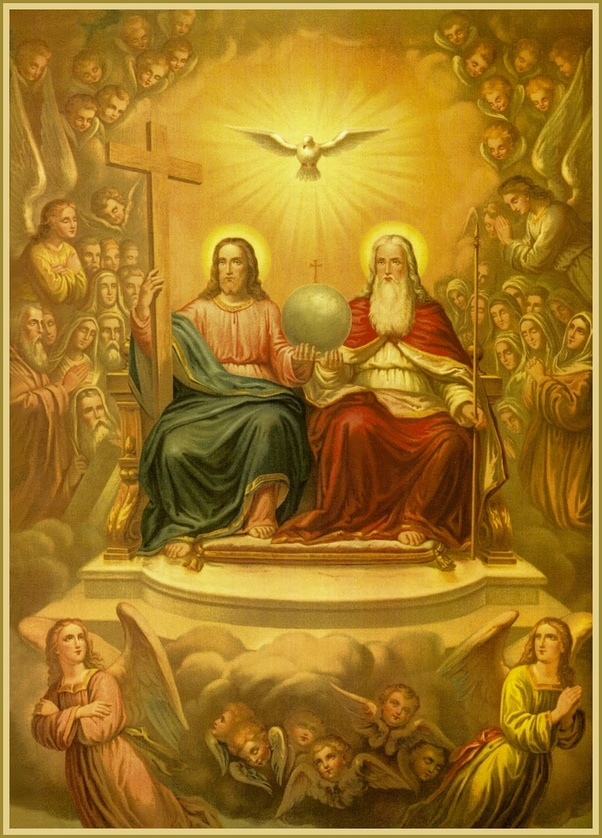 Image result for spirit proceeds from the father and the son