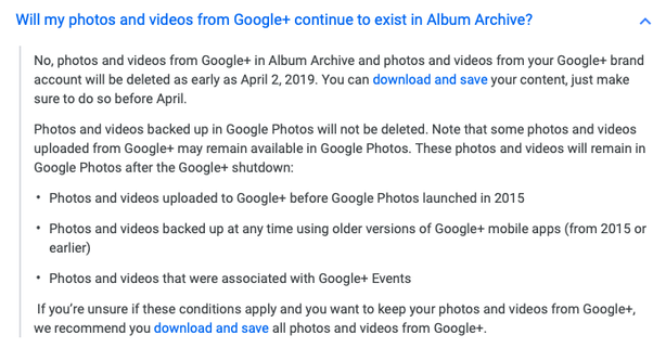 Google+ is going to shut down on April 2nd  Will Google Drive photos