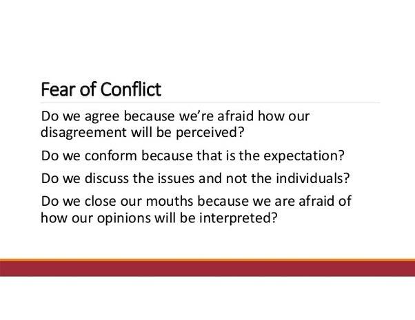 Confrontation phobia