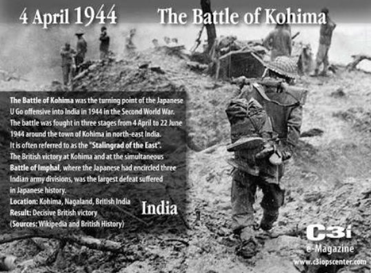 Why Is The Battle Of Kohima Known As The Stalingrad Of The East Quora