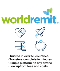 Worldremit free transfer promo code
