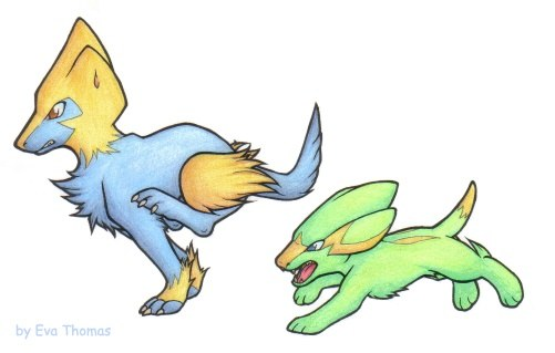 what are some pokemon that look like dogs quora