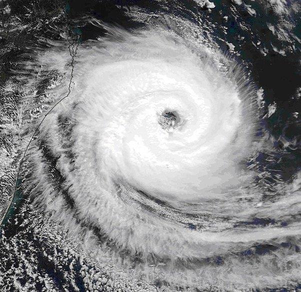 Coriolis Effect Hurricanes