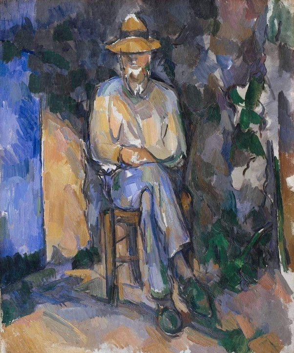 Paul Cezanne The Gardener Vallier C 1906