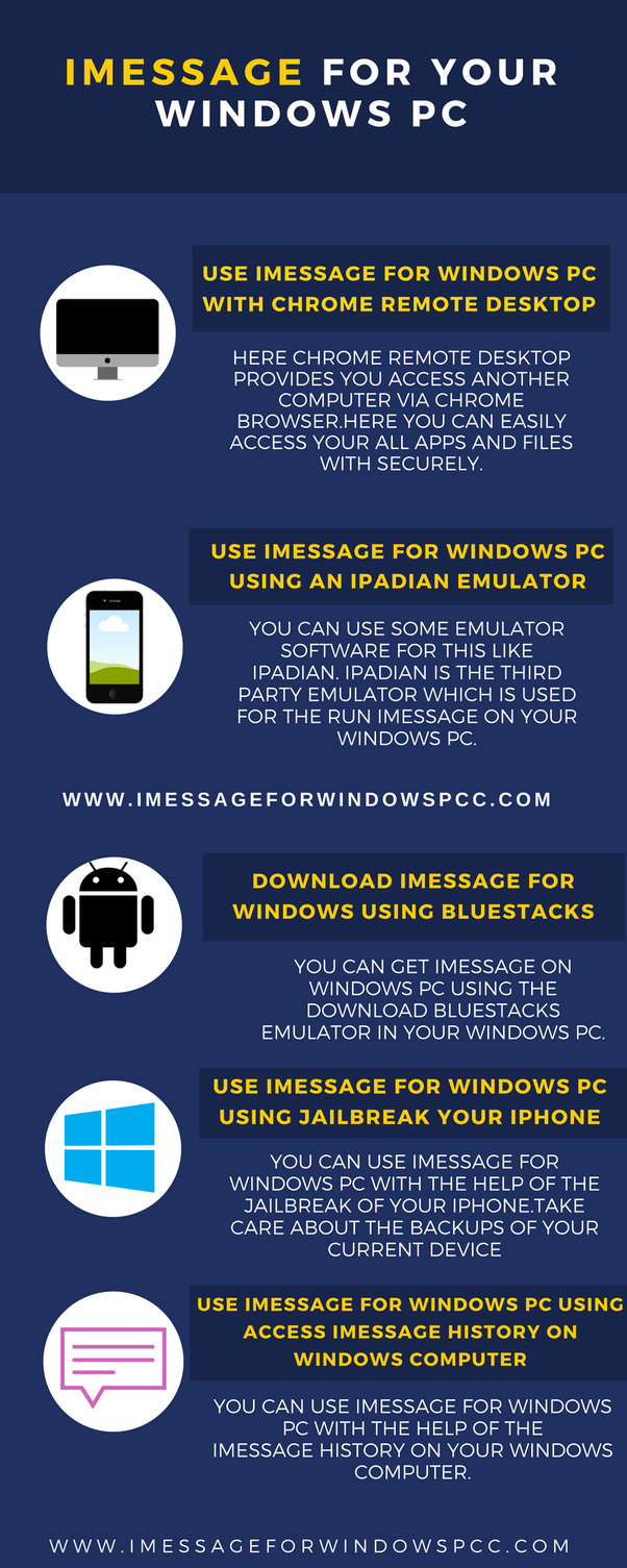 How to use iMessage on Windows - Quora