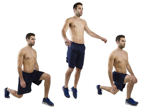 Is weighted jumping lunges a better exercise than regular