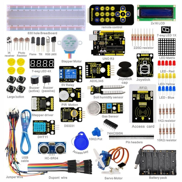 Which starter kit is the best for arduino in india quora its a complete kit to learn and explore arduino and embedded electronics solutioingenieria Images