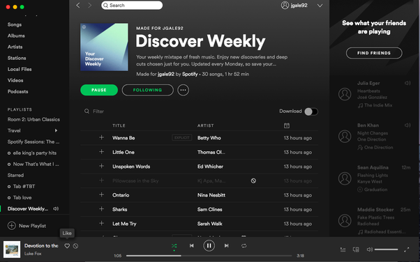 How does Spotify's Discover Weekly work? What data is taken