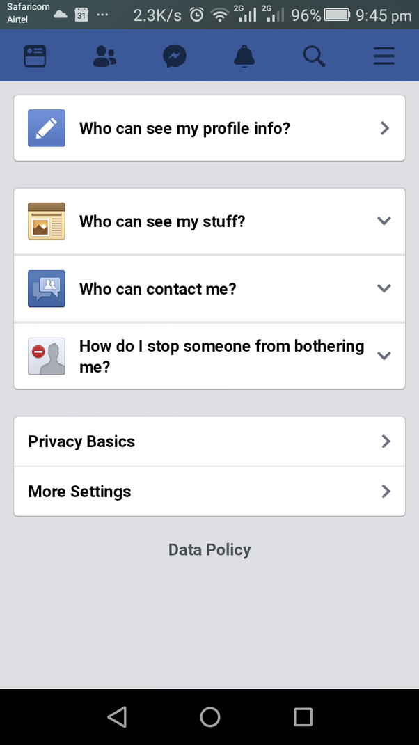 How To Get Back A Friend I Blocked On Facebook By Accident Quora