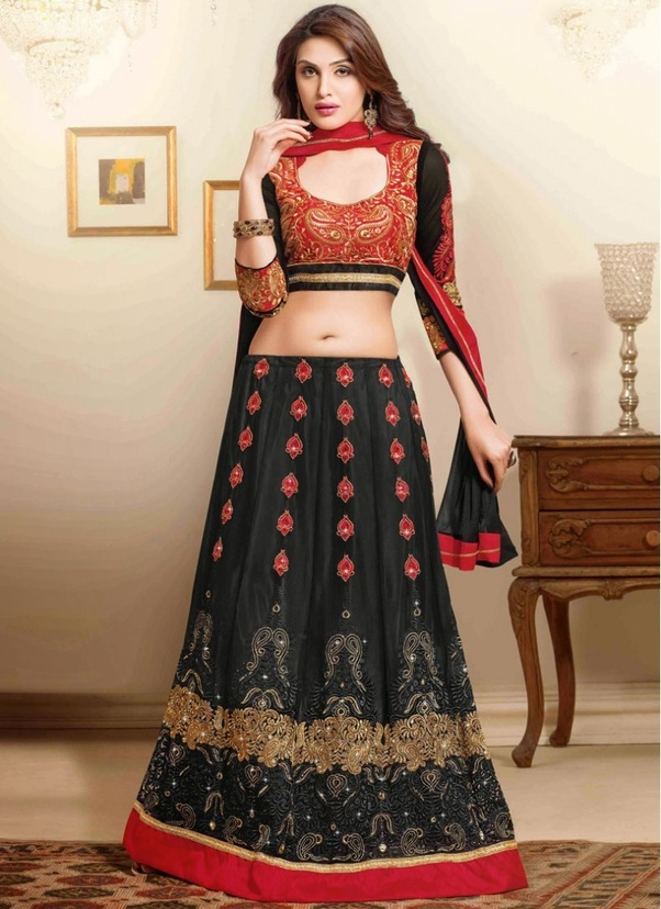 What Colour Top Should I Wear With A Black Lehenga Quora