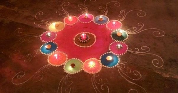 If You Are Short Of Ideas For Diwali Decoration, Check Out The Tips  Provided By TrendyBharat. The Site Has Listed Down 14 Best Diwali  Decoration Ideas To ...