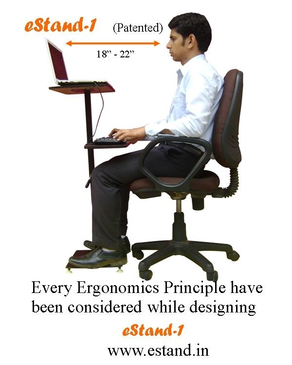 Top Edge Of Your Monitor Should Be At The Eye Level There Are Products Through Which You May Maintain Correct Ergonomic Posture Www Estand In