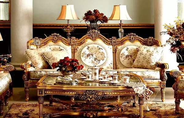High carving best quality solid rosewood sofa set. : dining table and sofa set - pezcame.com