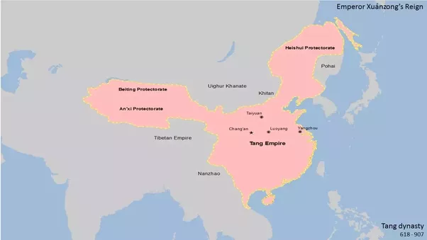 Which chinese dynasty first conquered manchuria quora heishui protectorate was given up in 815 due to the decline of tang dynastys military strength the land was then occupied by the pohai kingdom balhae sciox Choice Image