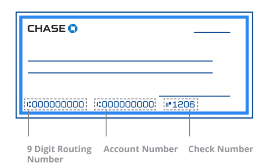 how to find out bank account number chase