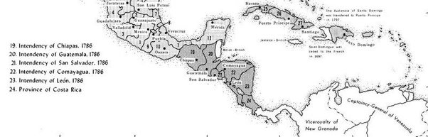 How were the borders of Central America determined Quora