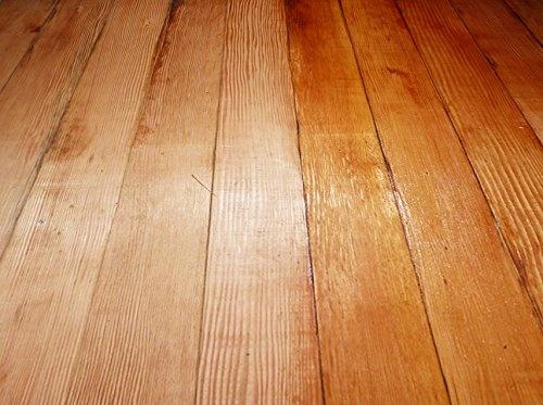 Put More Shine On Real Hard Wood Floors