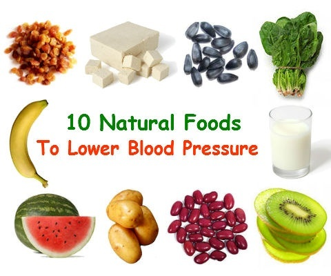 What Natural Foods Help Lower Blood Pressure