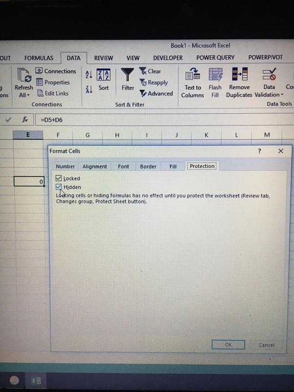 How To Lock Formulas In Excel Quora
