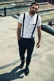 can we wear suspenders along with a casual shirt and jeans