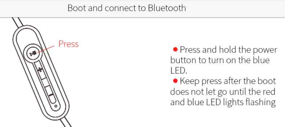How to switch a universal Bluetooth headset from Chinese to
