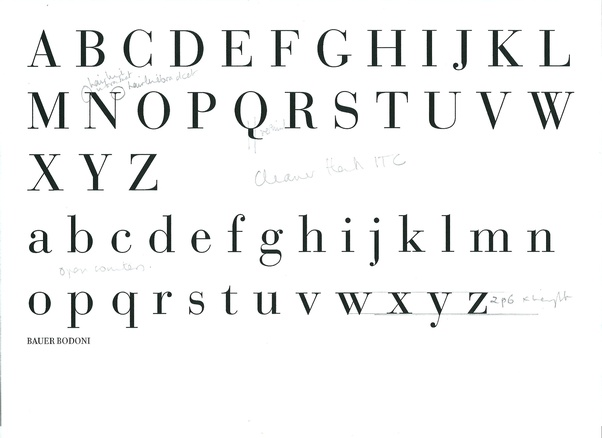 What font exudes fine engineering (as in Swiss watch and say