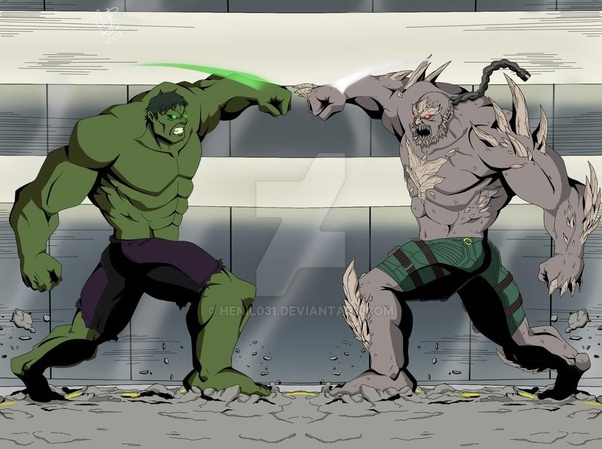 Who would win in a fight between Hulk and Doomsday ... Doomsday Vs Hulk Death Battle