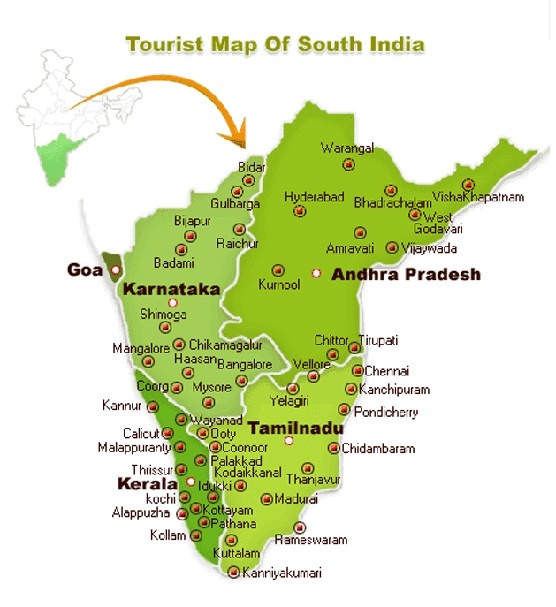 Coimbatore Attractions: Tamil Nadu, India: Why Is Hosur (near Bangalore) Part Of