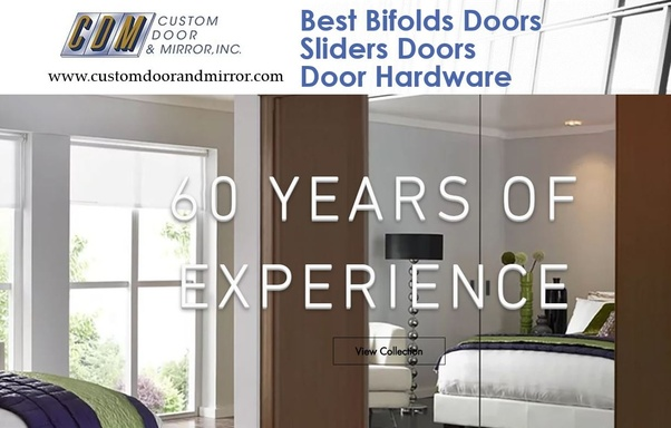 ... choice for the Mirror Bifold Doors. They are a New York Metropolitan area-based manufacturer. Custom Door and Mirror works with many famous companies as ... & Where can I find the best mirror bifold doors? - Quora