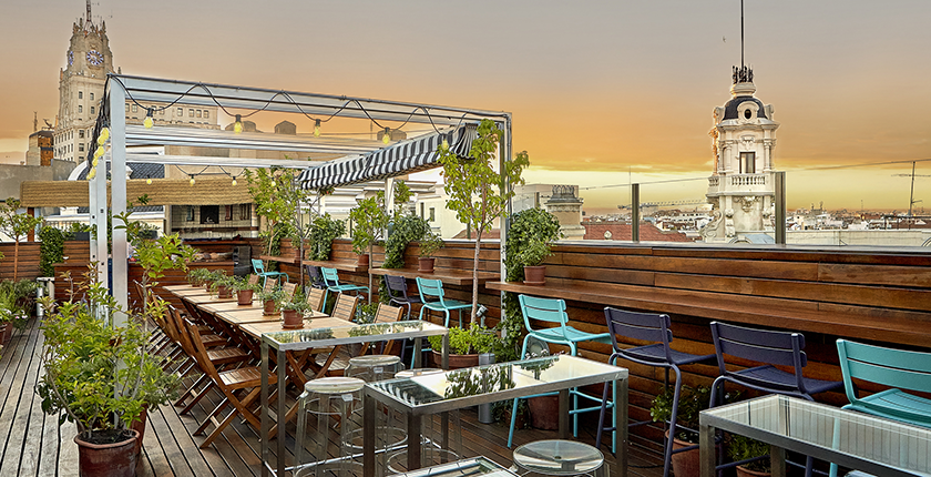 Are The Rooftop Bars Terraces In Madrid Open Year Round Quora