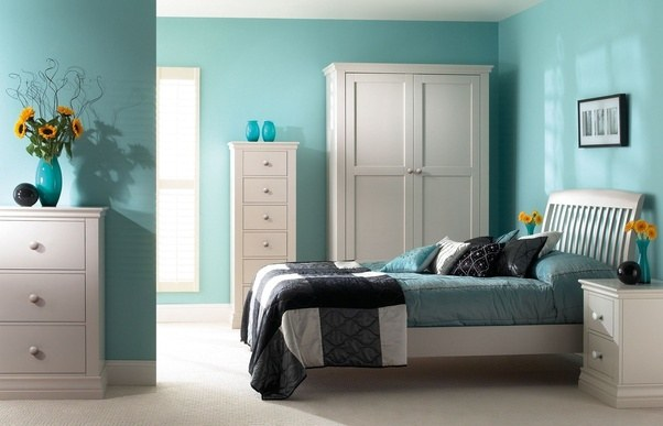 what do you think about turquoise bedroom quora
