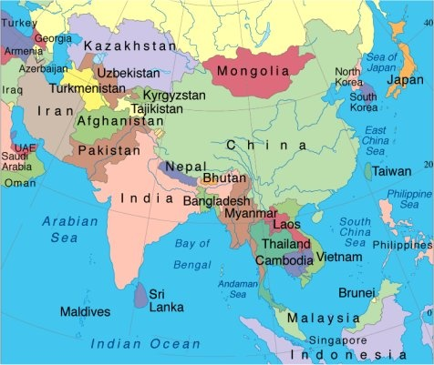 china and its neighbors map While The Usa Has Good Relations With Its Bordering Countries How china and its neighbors map