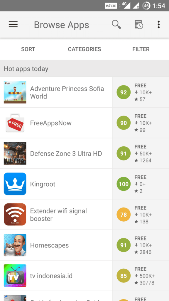 What are the other alternatives to the Google Play Store