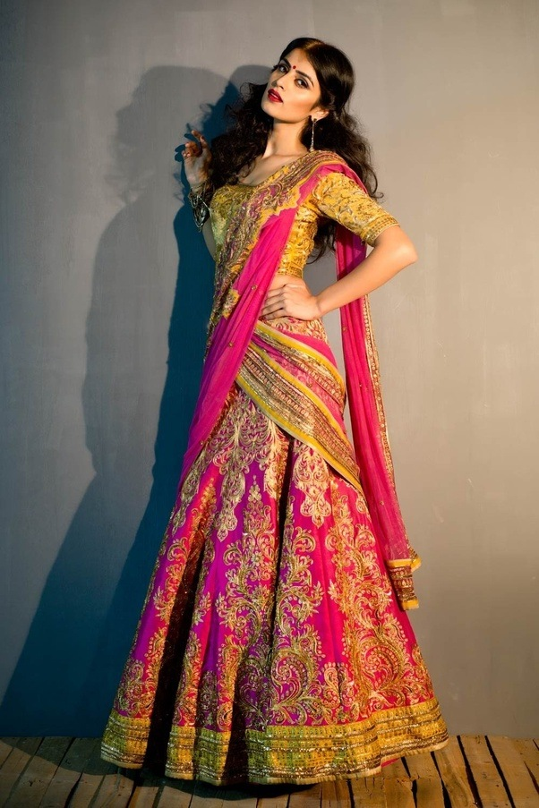 Fashion and you lehenga saree 83