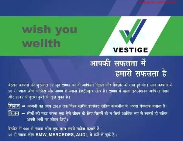 How Does Vestige Make Money Quora